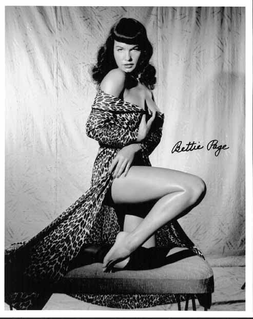 Betty Page Photos: Bettie Page Update